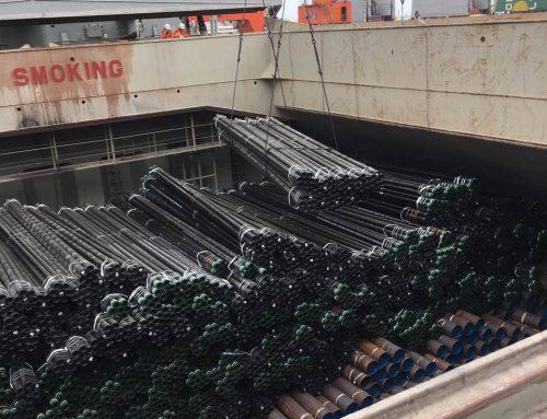 2,868 CBM of casing / Tianjin to Guanta / June 2017