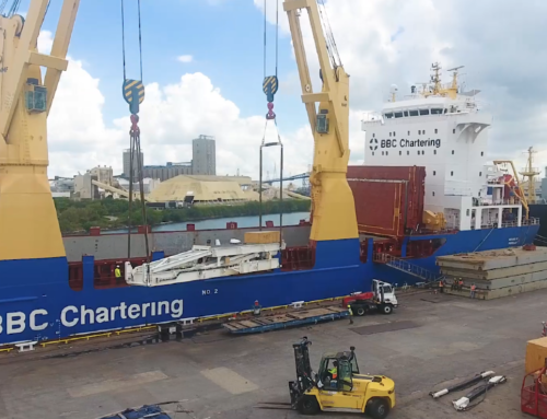 2000 HP Drilling Rig & Components / Crated at Shippers Yard, Trucked to the Port of Houston and Shipped to Zarate, Argentina / September 2018