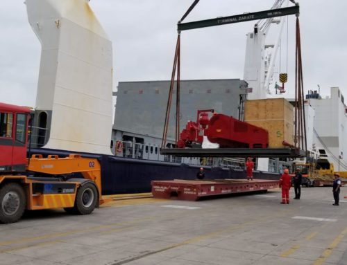 2000 HP Drilling Rig & Components / Crated at Shippers Yard, Trucked to the Port of Houston and Shipped to Zarate, Argentina / October 2018